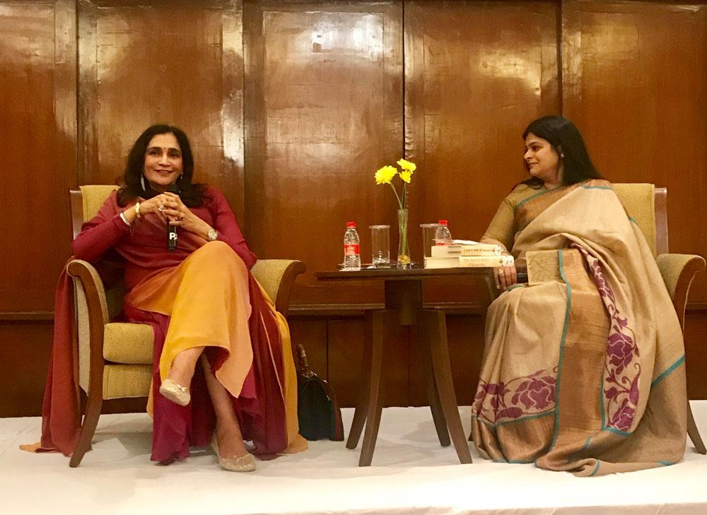 Conversationalist-Ms.-Preeti-Mehta-in-conversation-with-Author-Ms