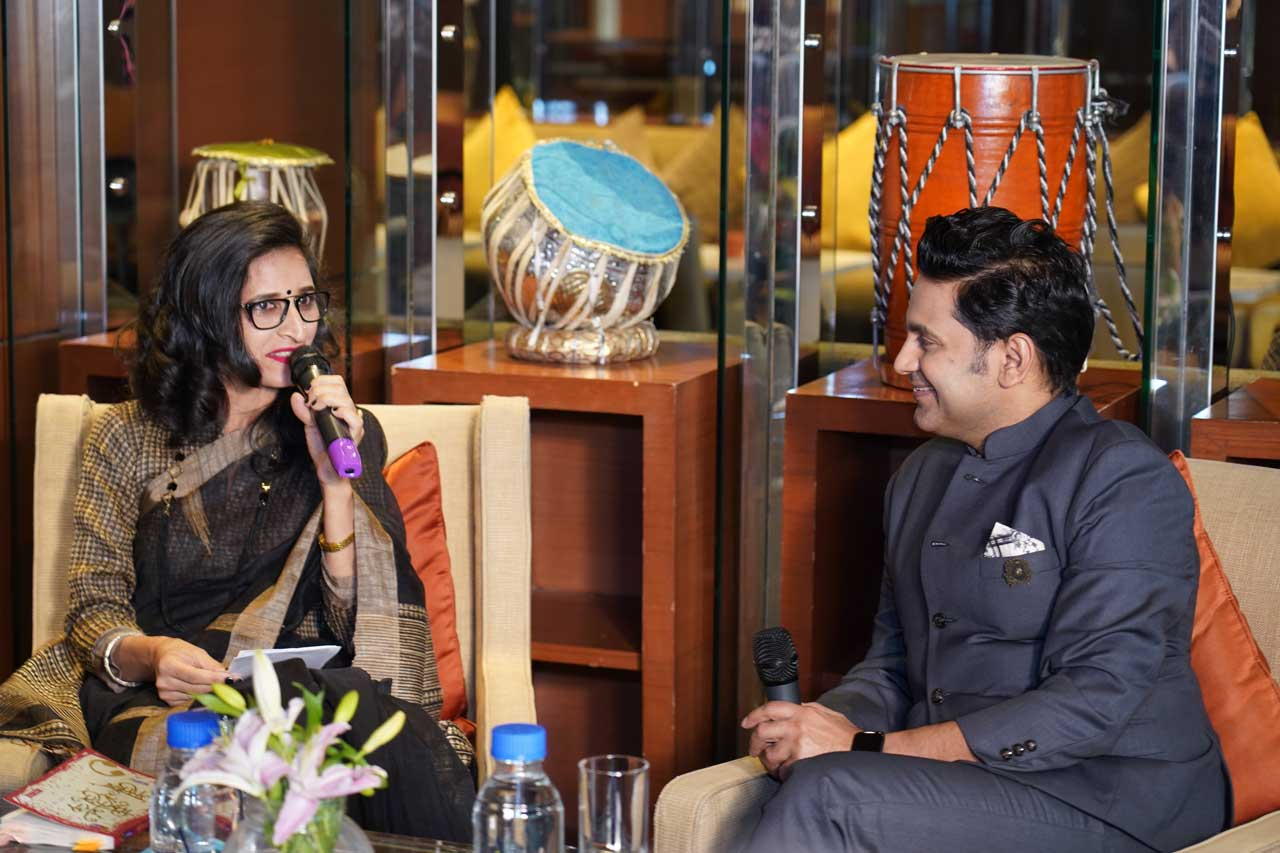 Sarita-Malik-in-conversation-with-Manoj-Muntashir