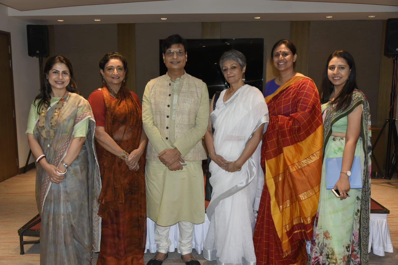 16. Irshad Kamil with Ehsaas Women of Amritsar