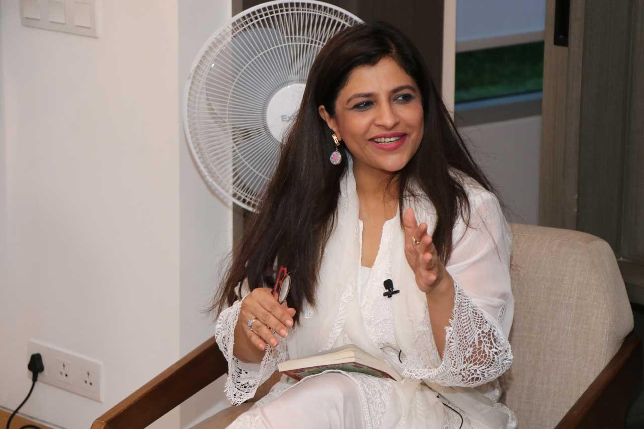 Conversationalist-Shazia-Ilmi,-Ehsaas-woman-of-Delhi