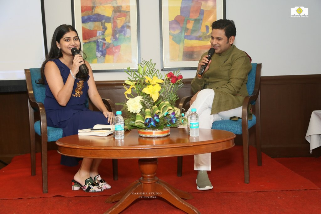 Manoj Muntashir in conversation with Sonam Mahajan