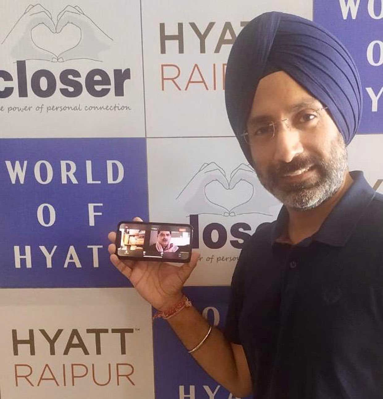 Harkaran-Singh-GM-Hyatt-Raipur