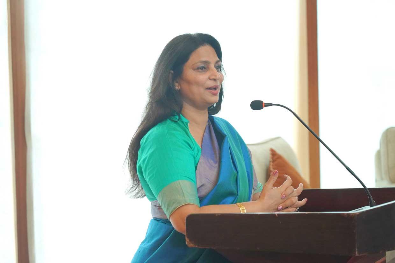 Welcome-address-by-Monica-Bhagwagar-Ehsaas-woman-of-Nagpur